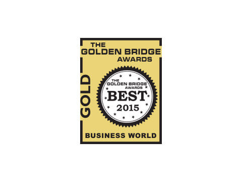 Golden Bridges, Gold Award for Company Growth, 2015