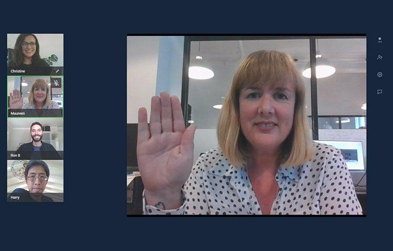 Person webcam