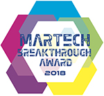 MarTech Breakthrough Awards 2018