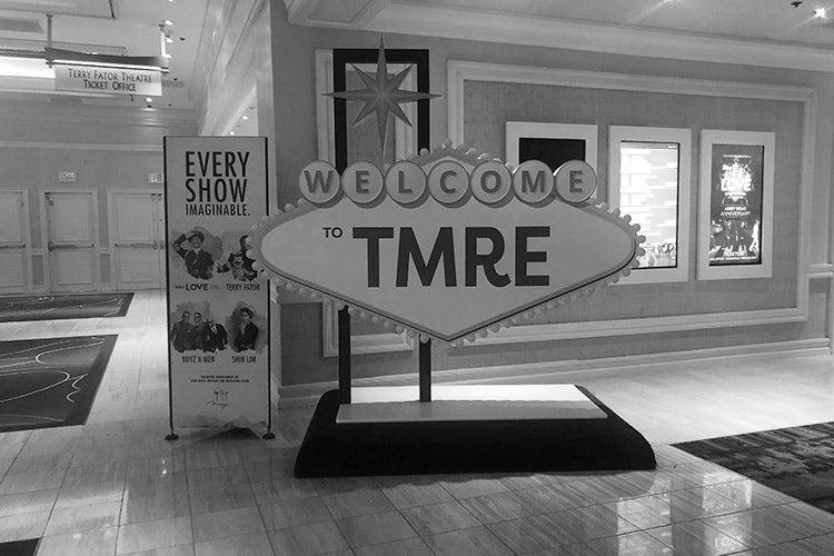 TMRE 2019 conference floor