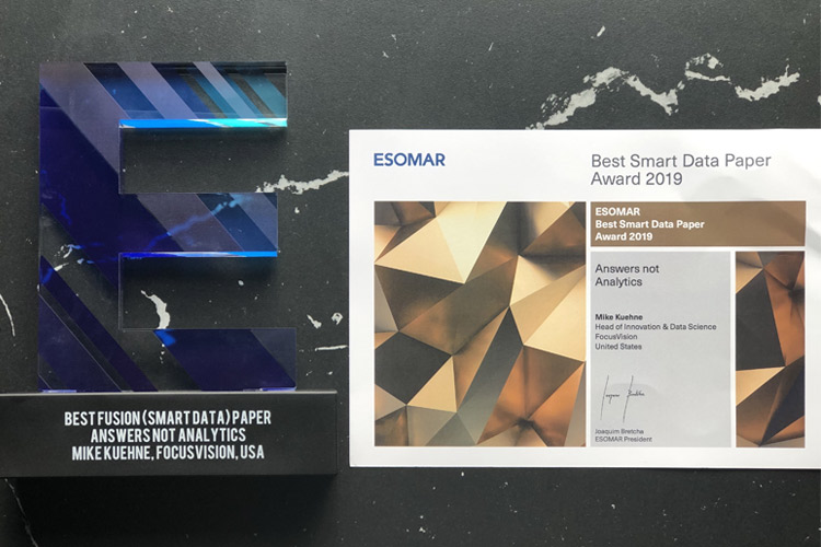 Thoughts from ESOMAR Fusion