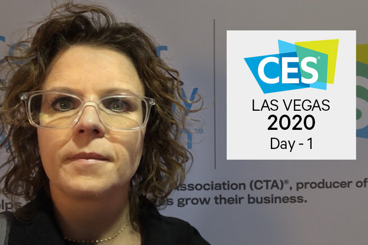 Zoë Dowling from the CES 2020 conference floor in this video blog from day one