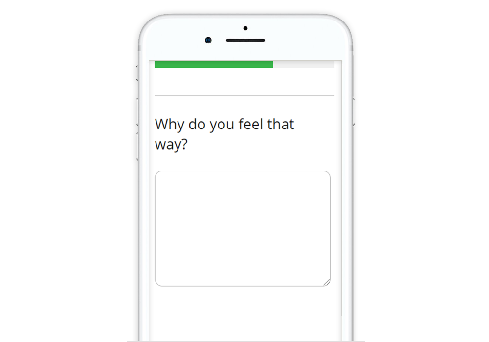 Guide to Designing Mobile Surveys Minimize the use of open ends as this increases dropout