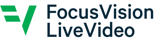 FocusVision Live Video survey programming