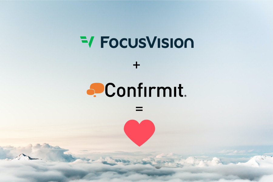FocusVision Confirmit Merged March 10th 2021