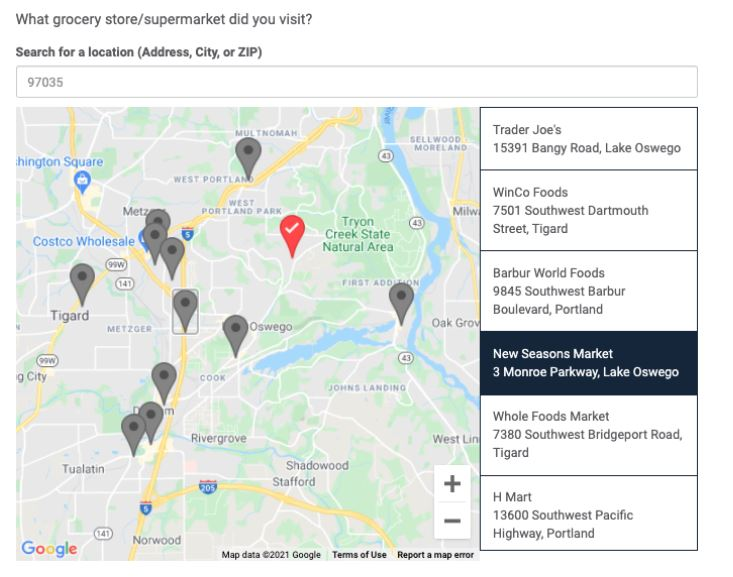 Getting to Know the New FocusVision Revelation Location Question